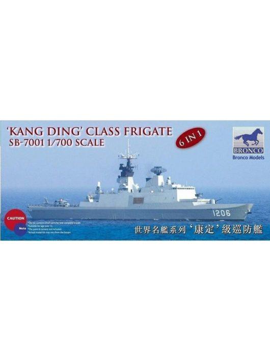 "Bronco Models - Kang Ding"" Class Frigate"
