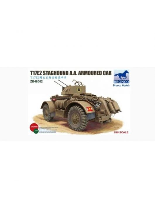 Bronco Models - T17E2 Staghound A.A.Armoured Car