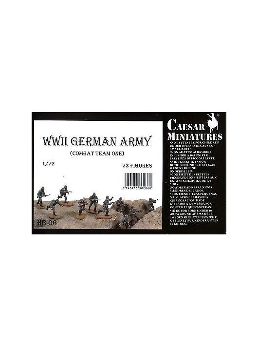 Caesar Miniatures - WWII Germans Army (combat team one)