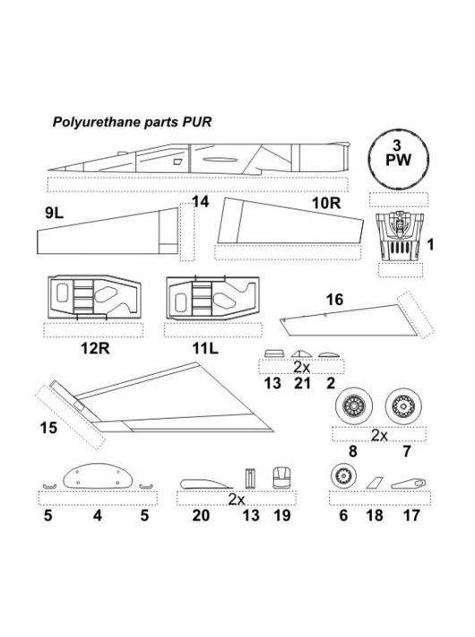 CMK - F-16C/D für Hasegawa-Bausatz