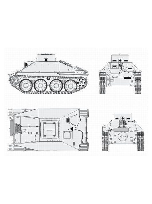 CMK - Jagdpanzer 38 Hetzer School version Conv