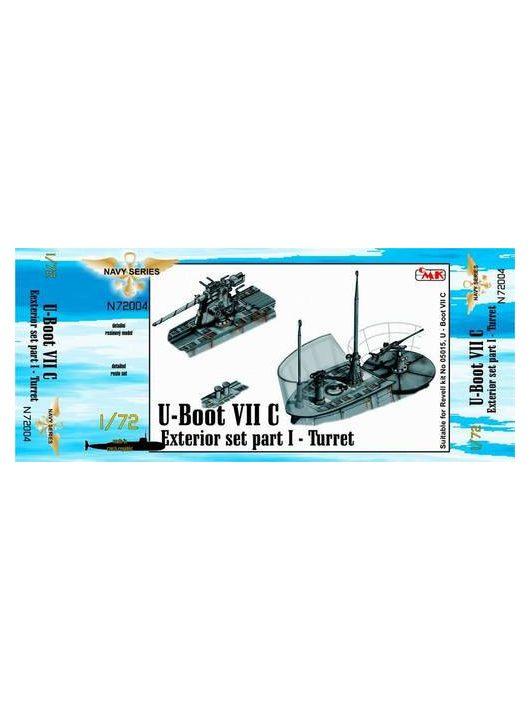 CMK - U-Boot Typ VII C Außendetails I Turm für Revell-Bausatz