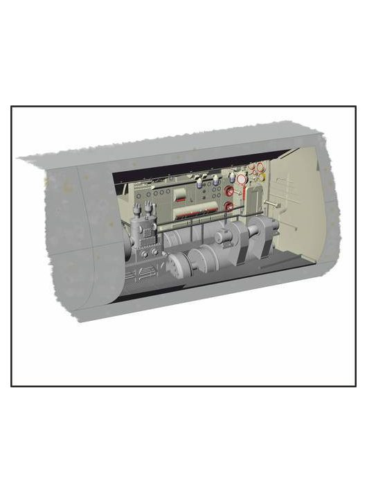 CMK - U-Boot IX Electric Motor section