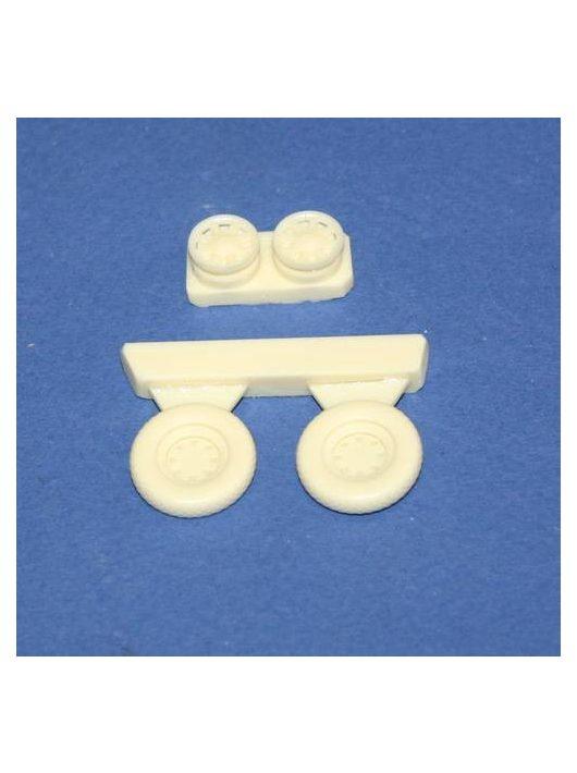 CMK - Hellcat Wheels für Hasegawa und Eduard Bausatz