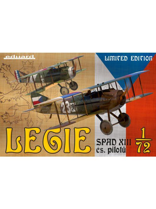Eduard - Legie - SPAD XIIIs flown by Czechoslovak pilots
