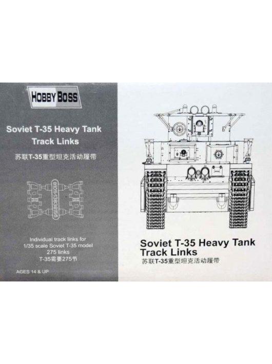 Hobbyboss - Soviet T-35 Heavy Tank Track Links
