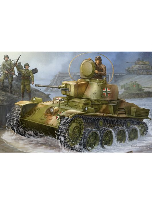 Hobbyboss - Hungarian Light Tank 38M Toldi I (A20)