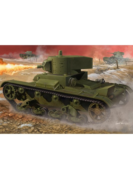 Hobbyboss - Soviet Ot-130 Flame Thrower