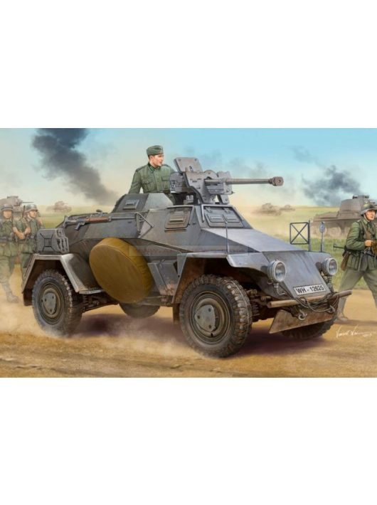 Hobbyboss - German Le.Pz.Sp.Wg (Sd.Kfz.221)Panzerwag