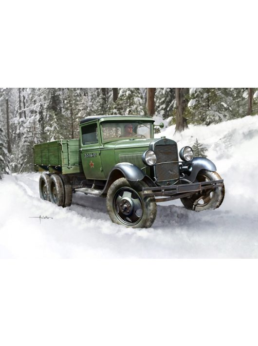 Hobbyboss - Soviet Gaz-Aaa Cargo Truck