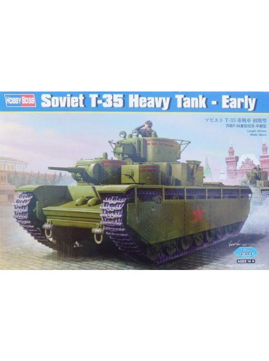 Hobbyboss - Soviet T-35 Heavy Tank-Early