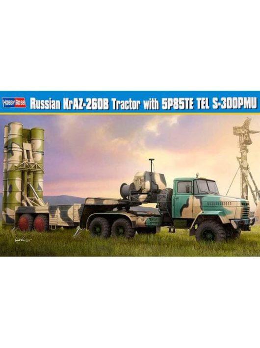 Hobbyboss - Russian KrAZ-260B Trctor w. 5P85TE TEL S-300PMU
