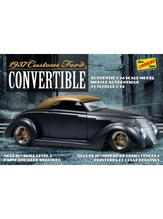 Lindberg - 1937 Ford Custom Convertible