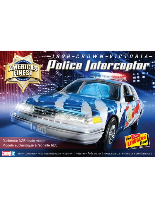 Lindberg - America's Finest Crown Victoria Police Cruiser