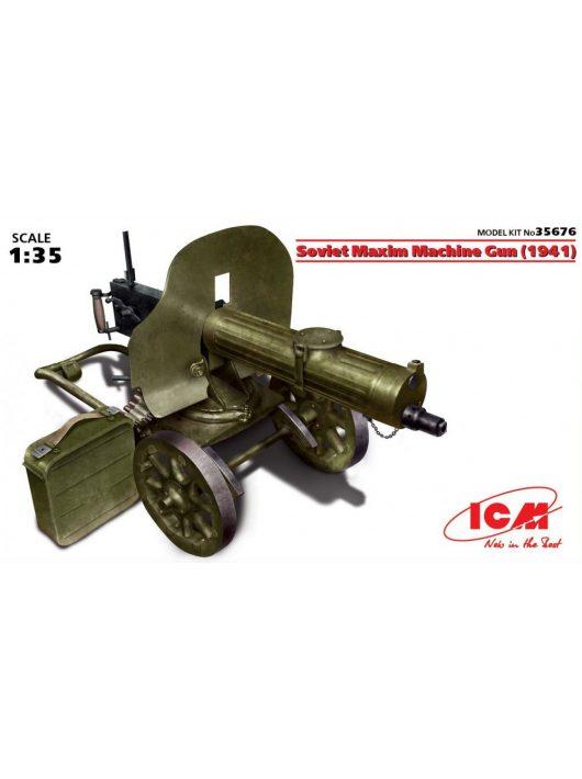 ICM - Soviet Maxim Machine Gun (1941)