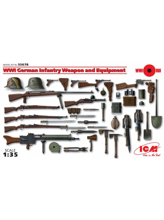 ICM - WWI German Infantry Weapon and Equipment
