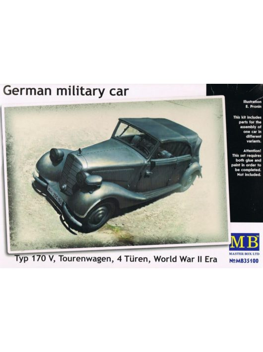 Master Box - Car Typ 170V Tourenwagen 1937-1940