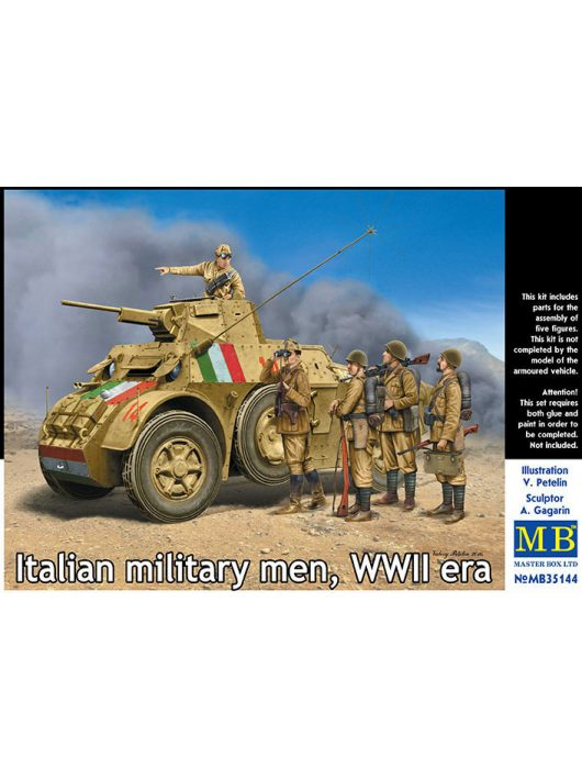 Master Box - Italian military men, WWII era