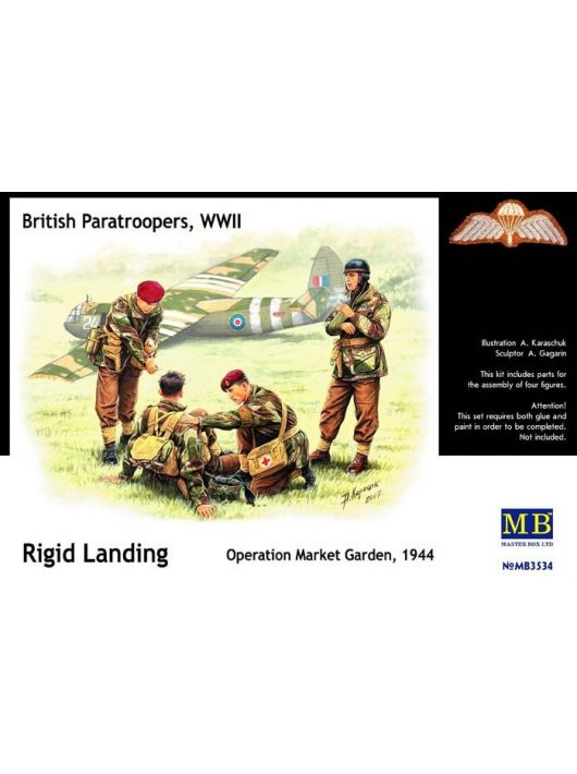 Master Box - British Paratroopers WWII Rigid Landing Operation Market Garden 194