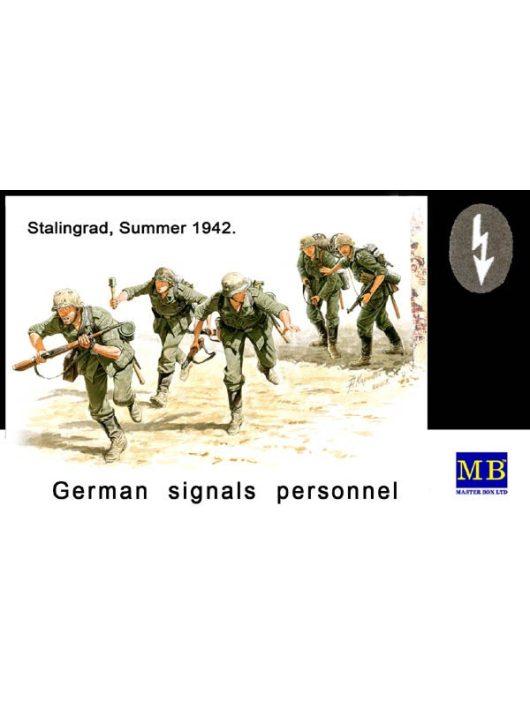 Master Box - German Signals Personnel,Stalingrad,1942