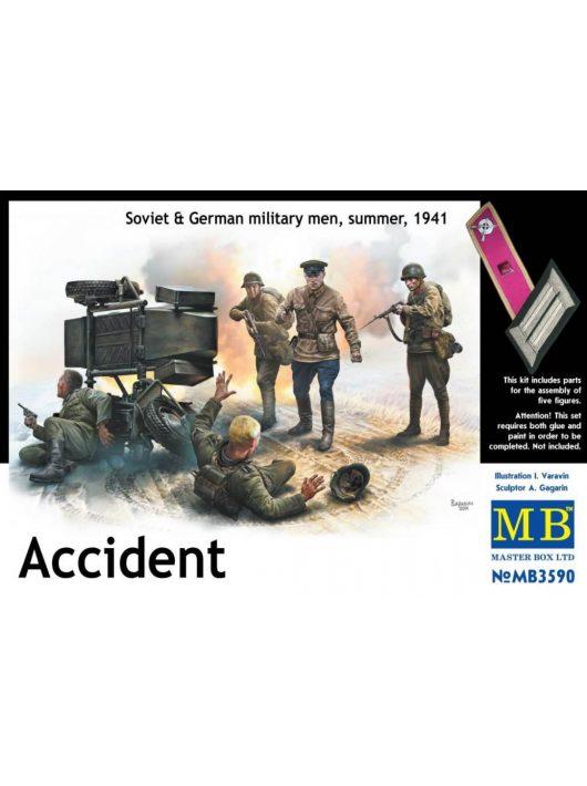 Master Box - Accident. Soviet&German military men,summer 1941