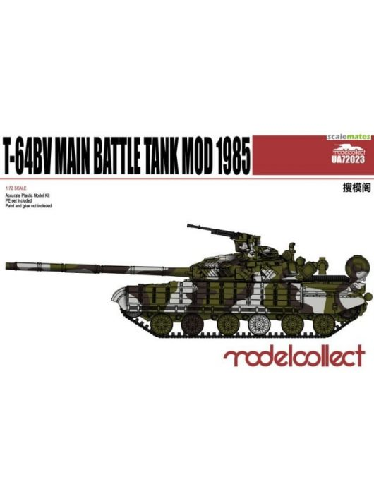 Modelcollect - T-64BV Main Battle Tank Mod 1985