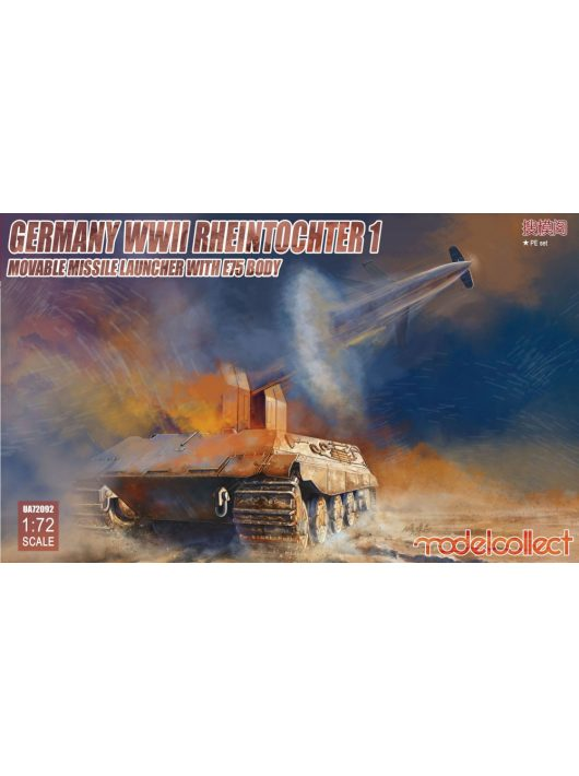 Modelcollect - Germany WWII Rheintochter 1 movable