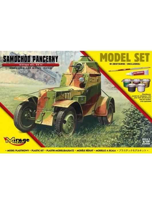 Mirage Hobby - Armoured Car Model 1943/II (Model Set)
