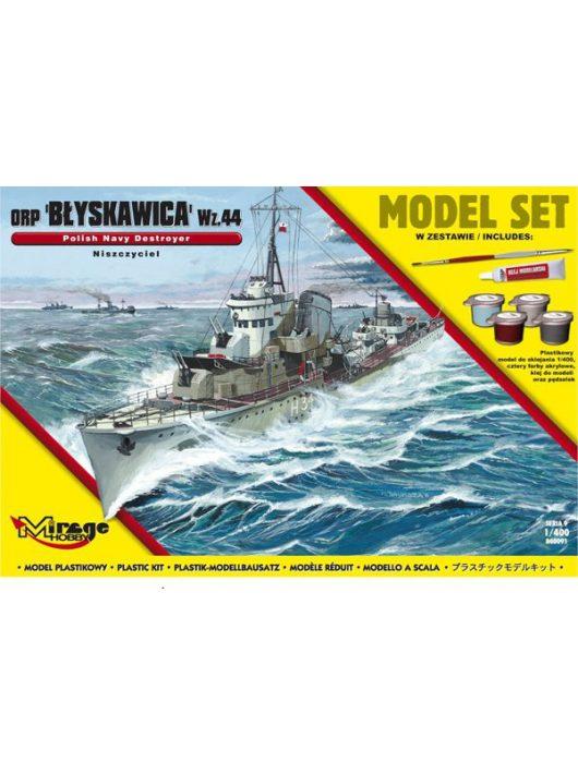 "Mirage Hobby - ORP""Blyskawica""-wz.44(Polish Destroyer WWII)(Model Set)"
