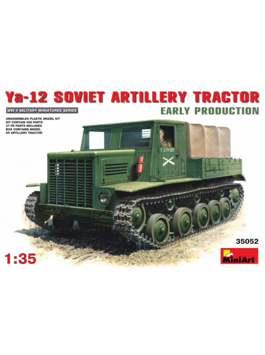 MiniArt - Soviet Artillery Tractor Ya-12 Early Production