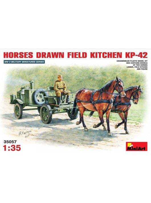 MiniArt - Horses Drawn Field Kitchen KP-42