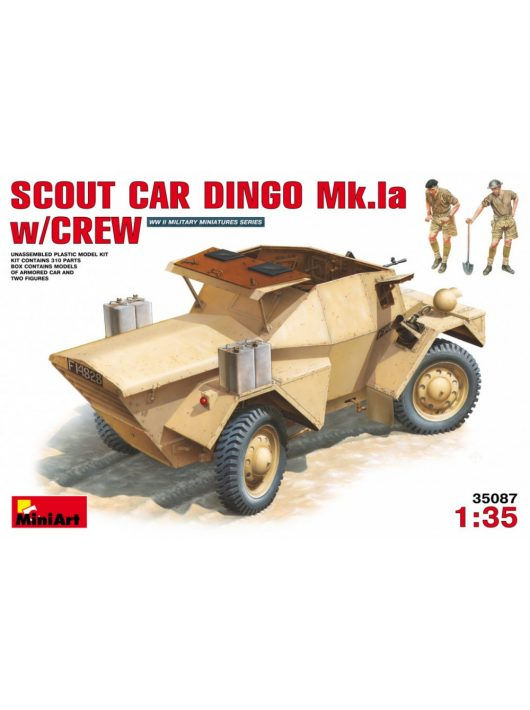 MiniArt - Scout Car Dingo Mk 1a withcrew
