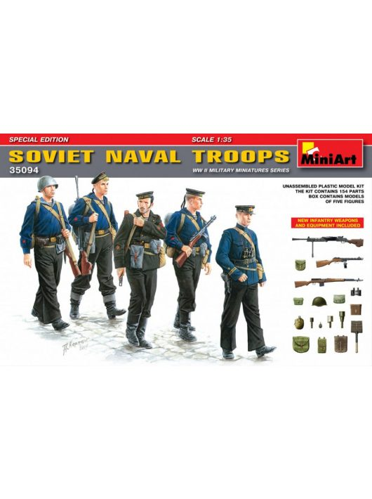 MiniArt - Soviet Naval Troops Special Edition