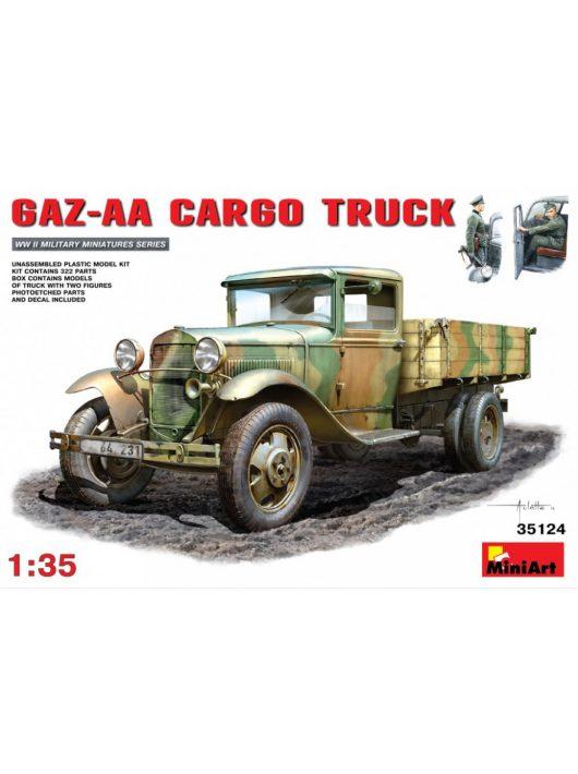 MiniArt - GAZ-AA  Cargo Truck