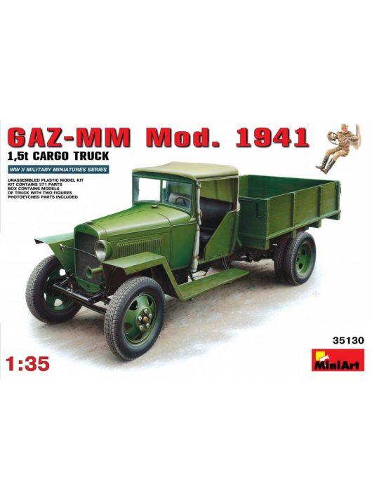 MiniArt - GAZ-MM  Mod 1941 Cargo Truck