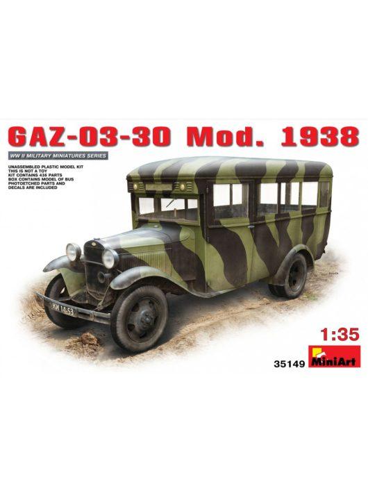 MiniArt - GAZ-03-30 Mod.1938