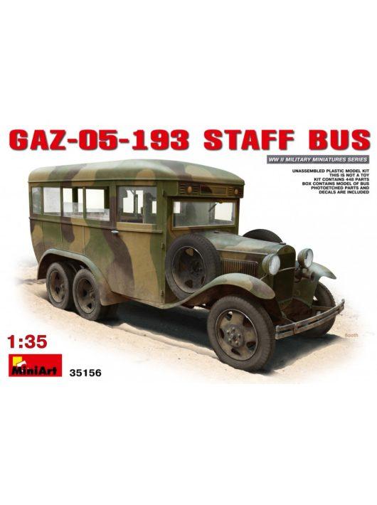 MiniArt - GAZ-05-193 Staff Bus