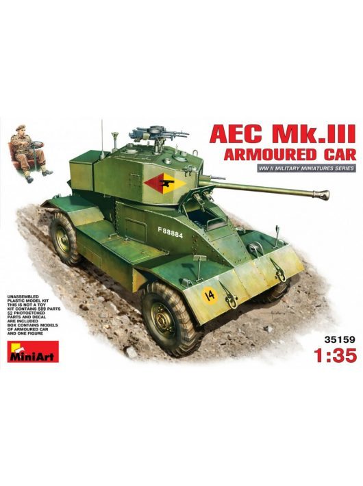 MiniArt - AEC Mk 3 Armoured Car