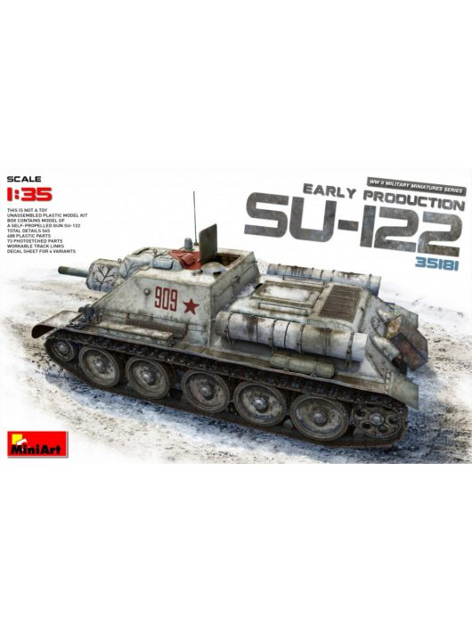 MiniArt - SU-122 (Early Production)