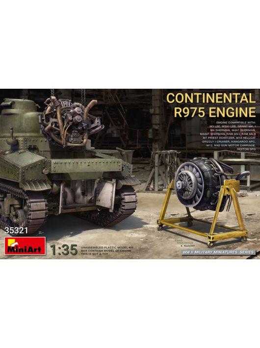 Miniart - Continental R975 engine