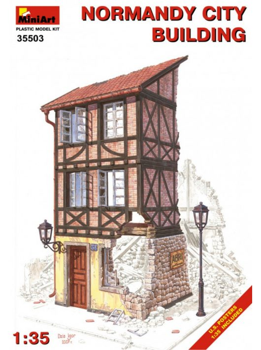 MiniArt - Normandy City Building