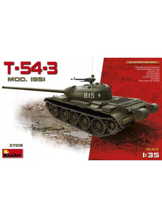 MiniArt - T-54-3 Mod.1951