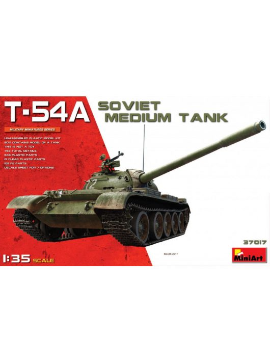 Miniart - T-54A Soviet Medium Tank
