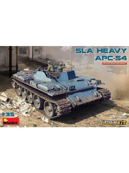 MiniArt - SLA Heavy APC-54. Interior Kit