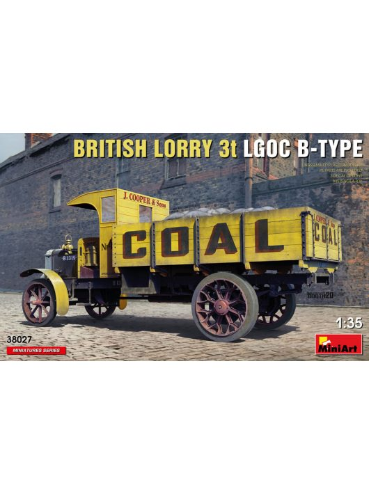 MiniArt - British Lorry LGOC 3t B-Type