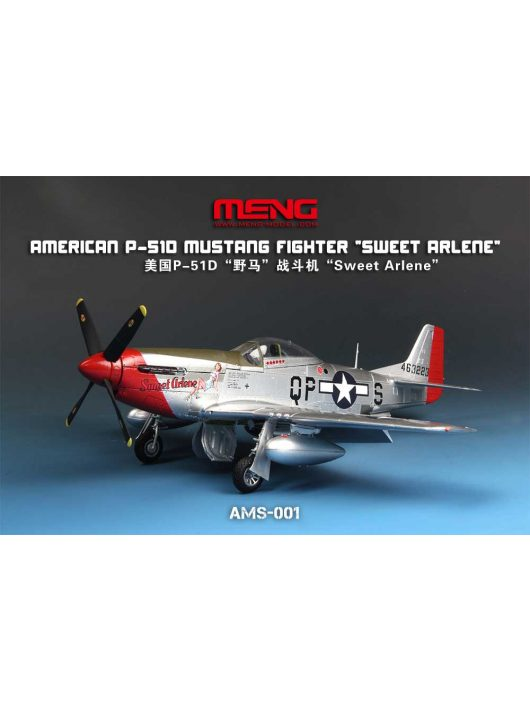 "Meng Model - American P-51D Mustang Fighter ""Sweet Arlene"""