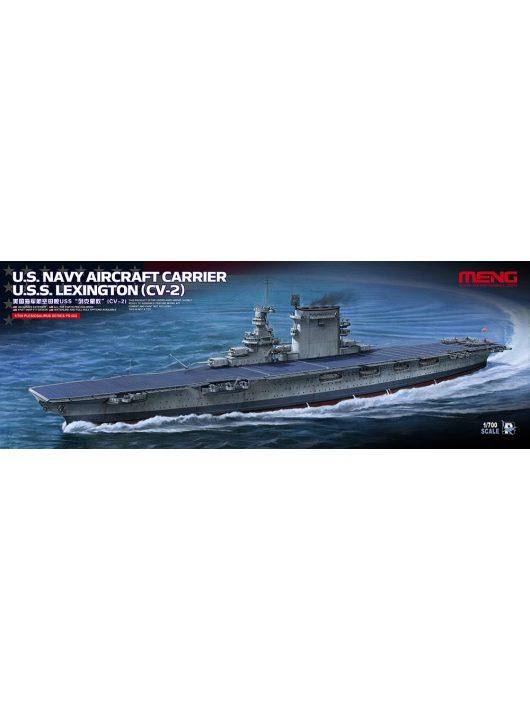 Meng Model - U.S. Navy Aircraft Carrier U.S.S. Lexington (Cv-2)