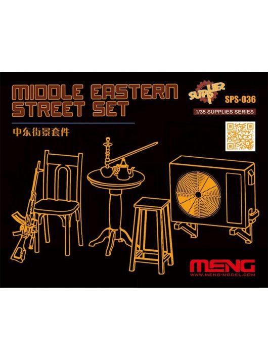 Meng Model - Middle Eastern Street Set (Resin)