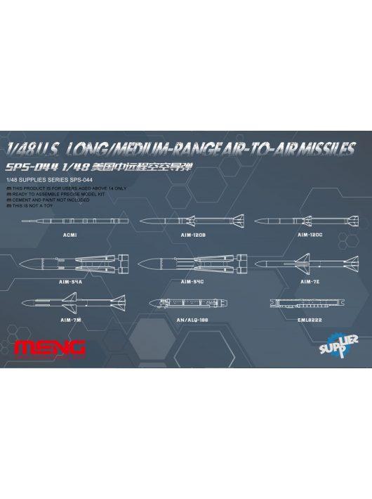 Meng Model - U.S. Long/Medium-range Air-to-air Missiles