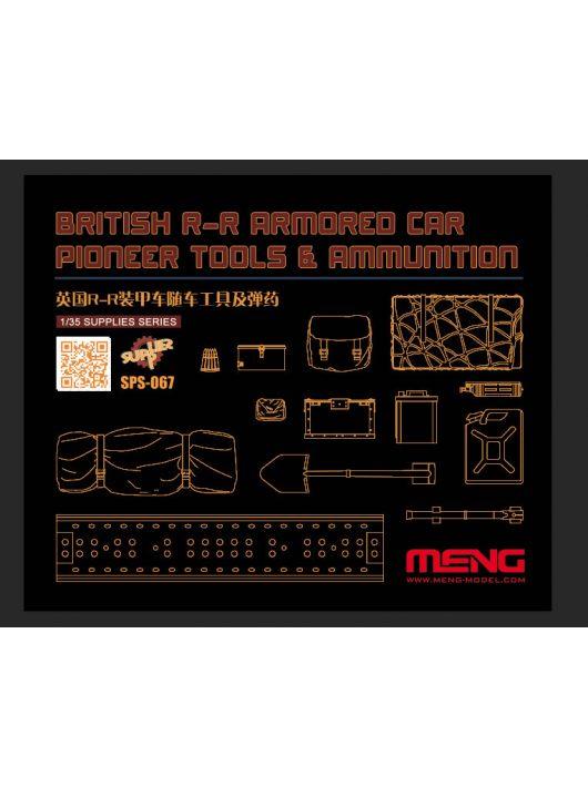 Meng Model - British R-R Armored Car Pioneer Tools & Ammunition (RESIN)